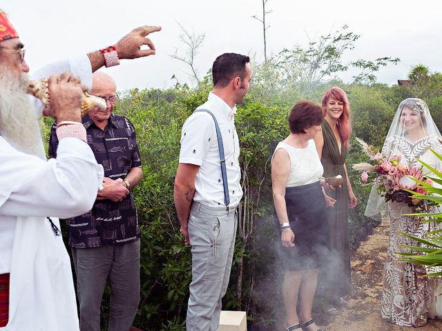 James and Priscilla's Wedding in Akumal, Mexico 24