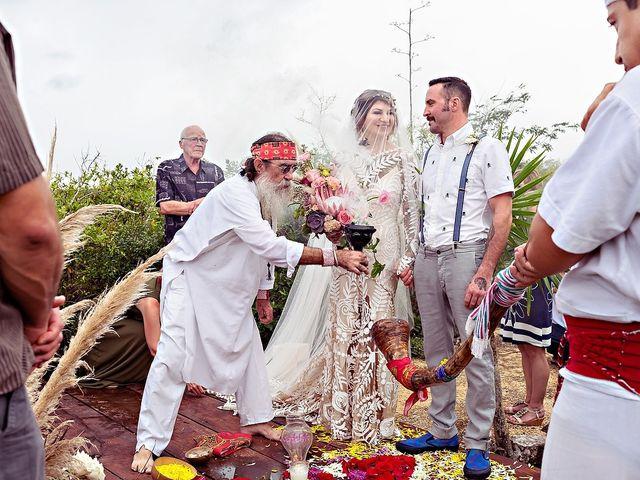 James and Priscilla's Wedding in Akumal, Mexico 26