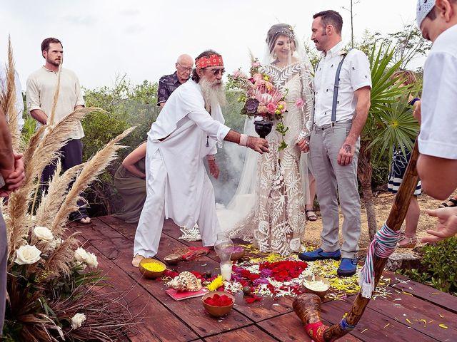 James and Priscilla's Wedding in Akumal, Mexico 27