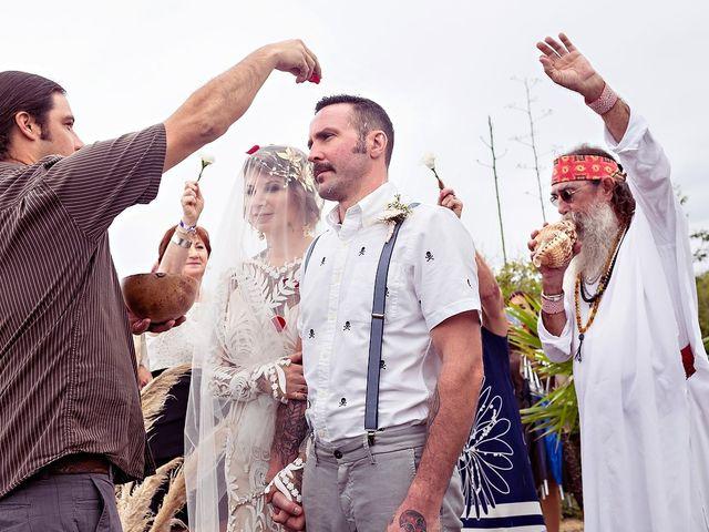 James and Priscilla's Wedding in Akumal, Mexico 32