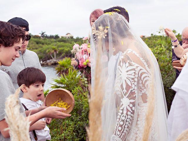 James and Priscilla's Wedding in Akumal, Mexico 38