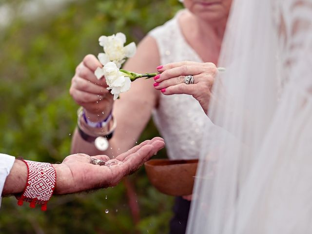 James and Priscilla's Wedding in Akumal, Mexico 41