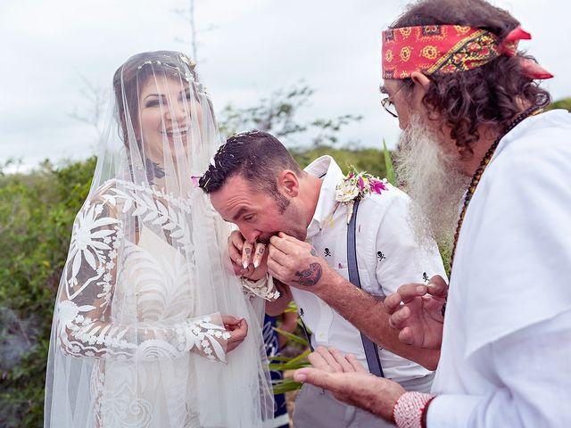 James and Priscilla's Wedding in Akumal, Mexico 44