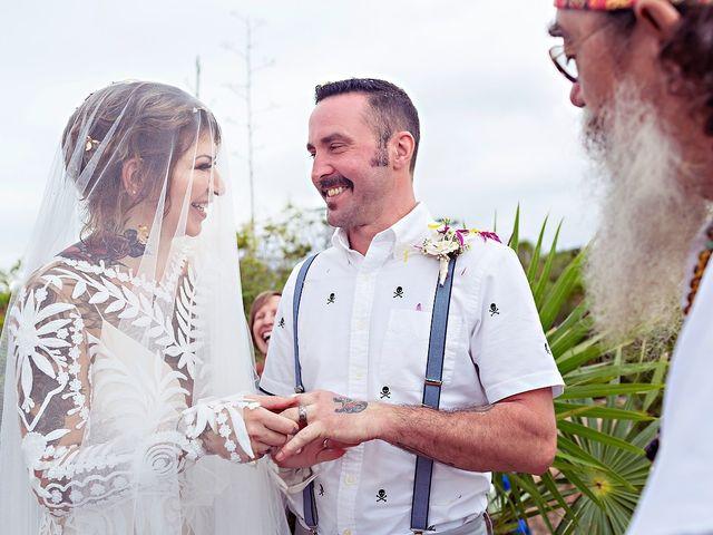James and Priscilla's Wedding in Akumal, Mexico 45
