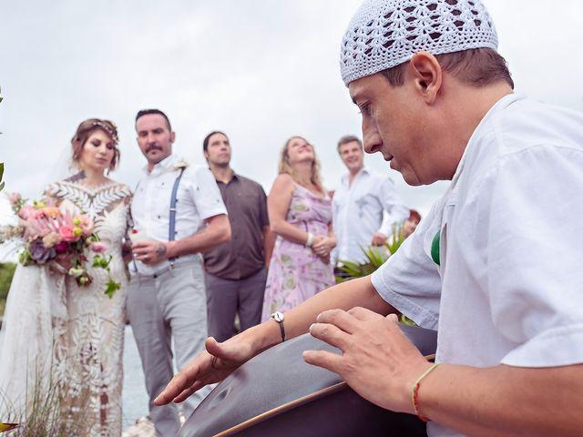 James and Priscilla's Wedding in Akumal, Mexico 53