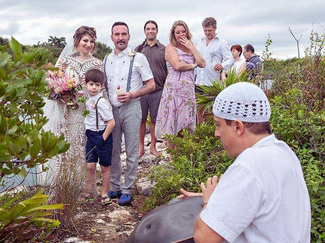 James and Priscilla's Wedding in Akumal, Mexico 54