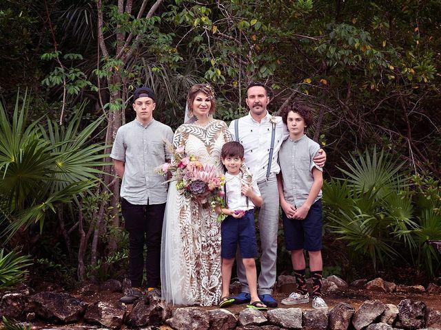 James and Priscilla's Wedding in Akumal, Mexico 59