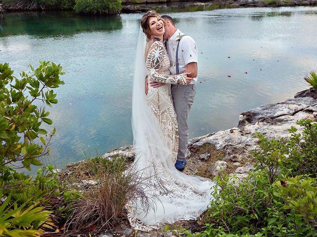 James and Priscilla's Wedding in Akumal, Mexico 64