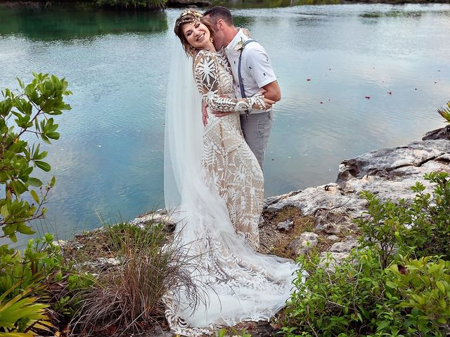 James and Priscilla's Wedding in Akumal, Mexico 65