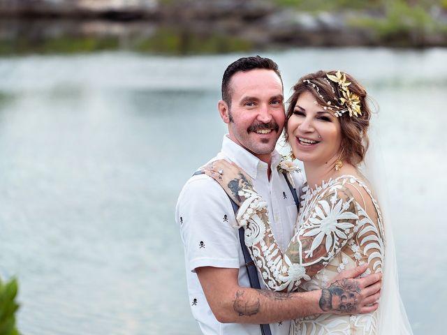 James and Priscilla's Wedding in Akumal, Mexico 67