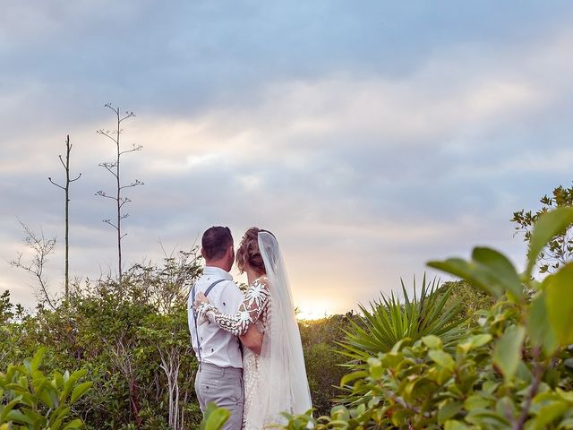 James and Priscilla's Wedding in Akumal, Mexico 70