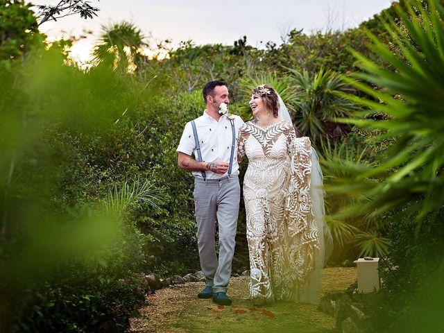 James and Priscilla's Wedding in Akumal, Mexico 71
