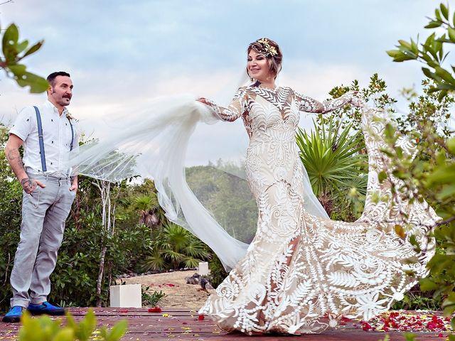 James and Priscilla's Wedding in Akumal, Mexico 73