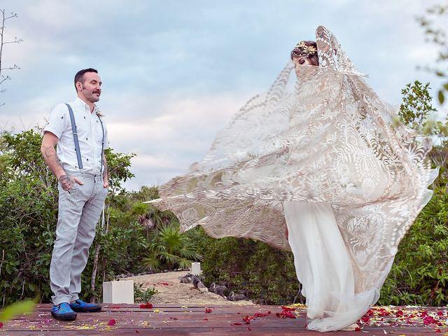 James and Priscilla's Wedding in Akumal, Mexico 74