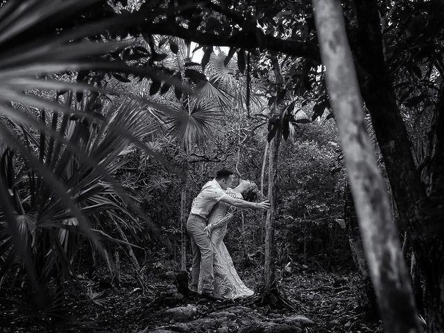 James and Priscilla's Wedding in Akumal, Mexico 80