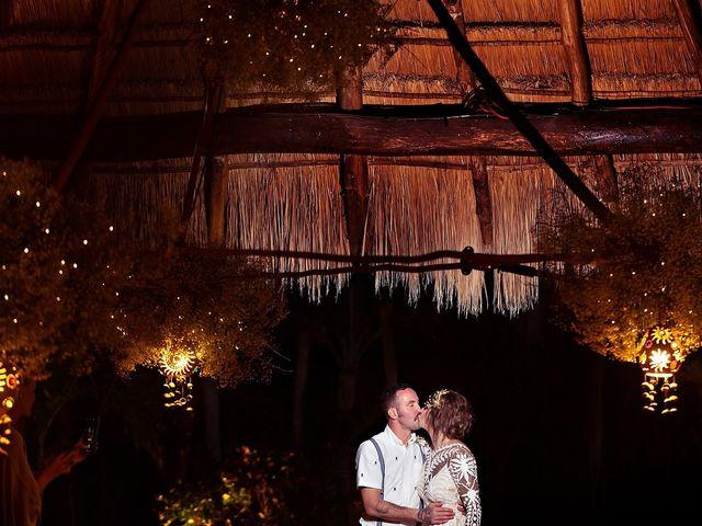 James and Priscilla's Wedding in Akumal, Mexico 87