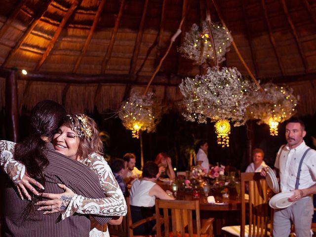 James and Priscilla's Wedding in Akumal, Mexico 90