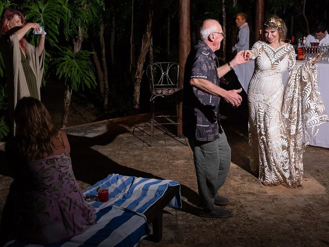 James and Priscilla's Wedding in Akumal, Mexico 95