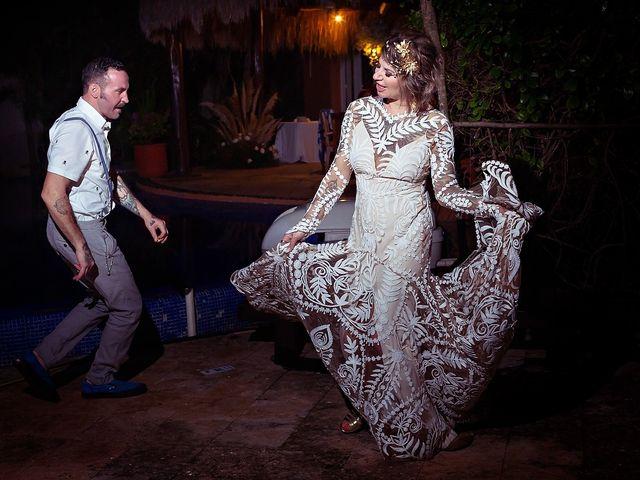 James and Priscilla's Wedding in Akumal, Mexico 98