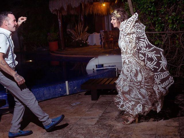 James and Priscilla's Wedding in Akumal, Mexico 99