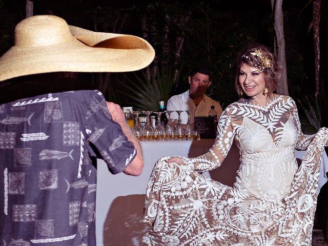 James and Priscilla's Wedding in Akumal, Mexico 100