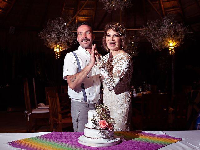 James and Priscilla's Wedding in Akumal, Mexico 105