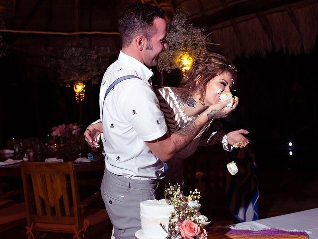 James and Priscilla's Wedding in Akumal, Mexico 106