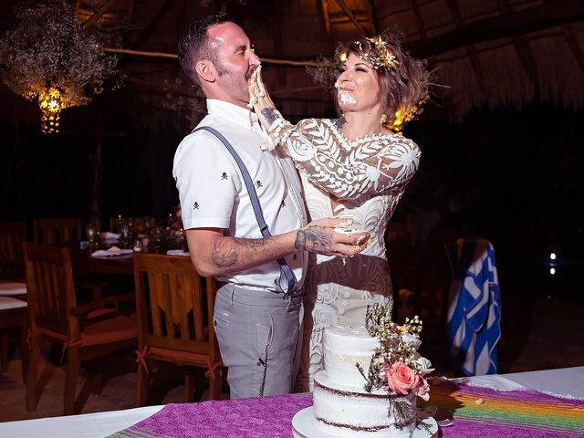 James and Priscilla's Wedding in Akumal, Mexico 107