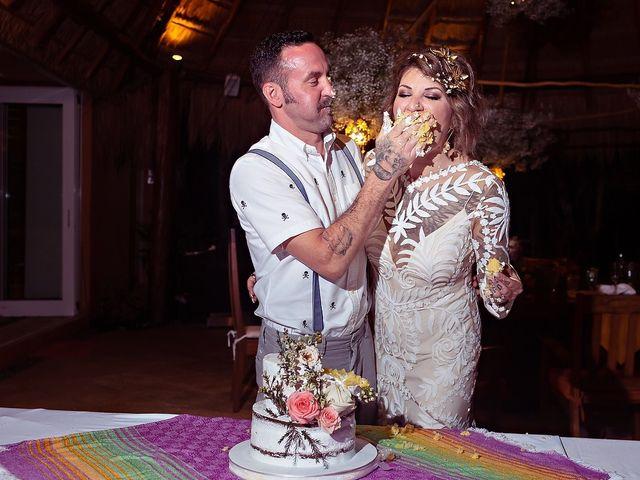 James and Priscilla's Wedding in Akumal, Mexico 108