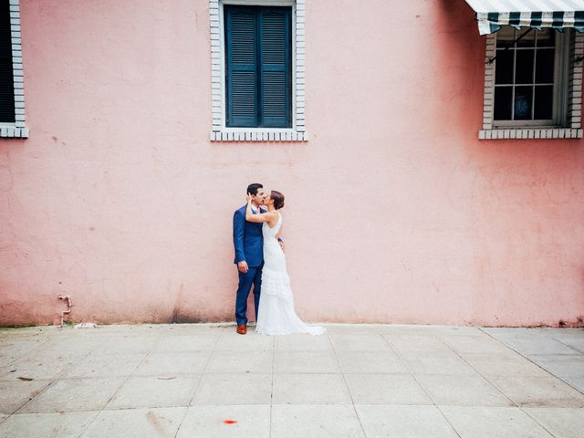 The wedding of Lauren and Max