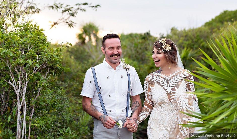 James and Priscilla's Wedding in Akumal, Mexico