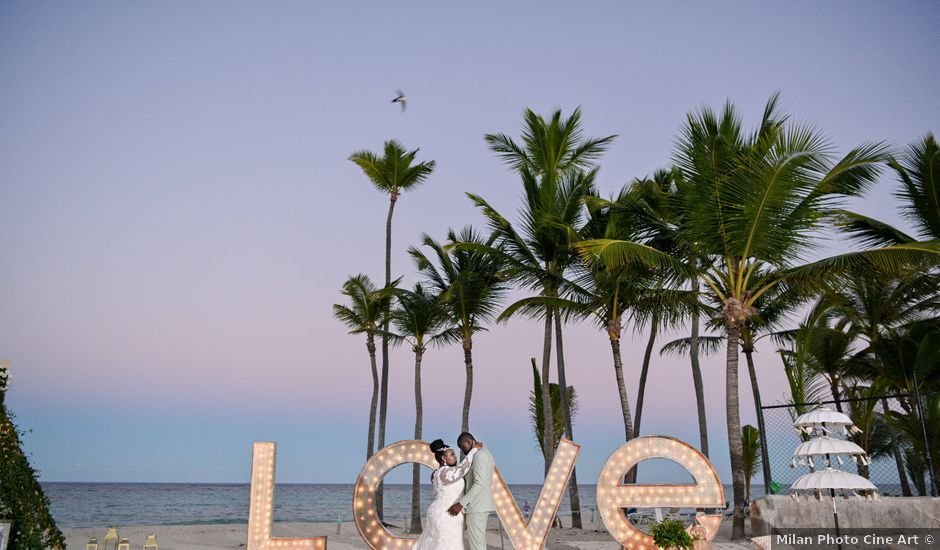 Komi and Ashley's Wedding in Punta Cana, Dominican Republic