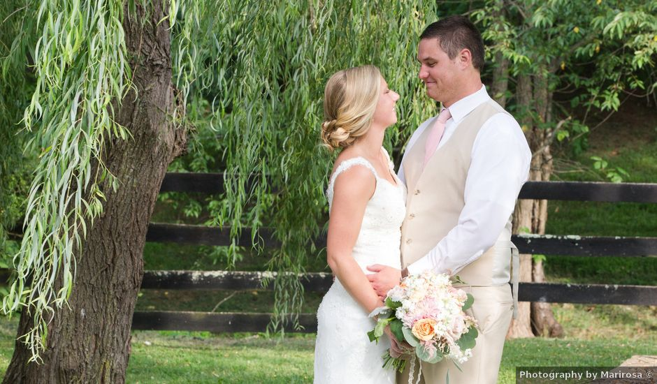 Erin and Tyler's Wedding in Purcellville, Virginia