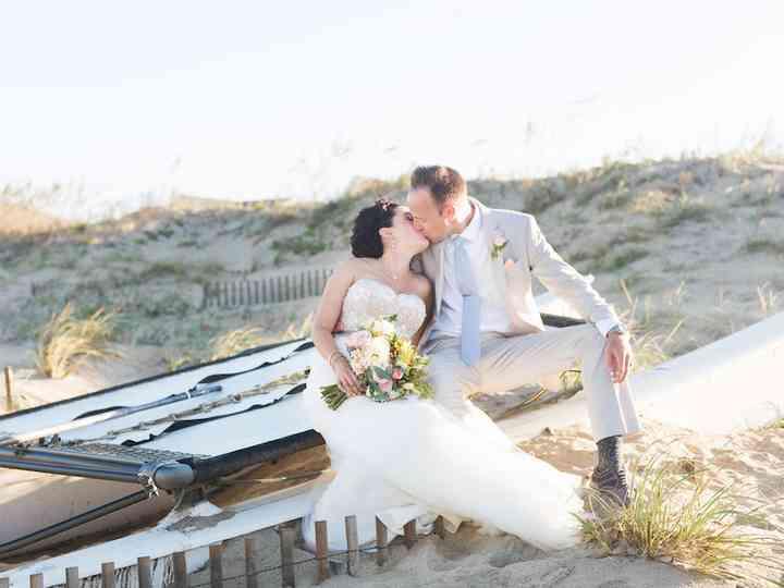 The wedding of Justin and Sarah