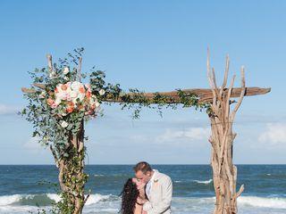 Sarah and Justin's Wedding in Nags Head, North Carolina 7