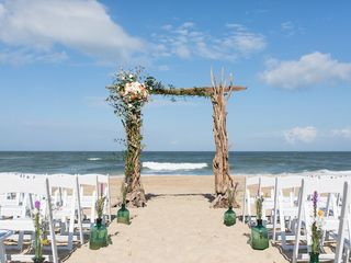 Sarah and Justin's Wedding in Nags Head, North Carolina 3