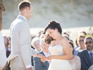 Sarah and Justin's Wedding in Nags Head, North Carolina 9