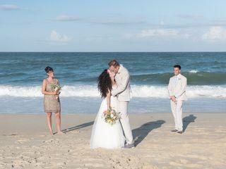 Sarah and Justin's Wedding in Nags Head, North Carolina 10