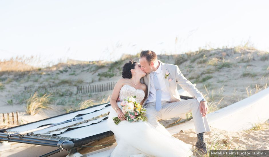 Sarah and Justin's Wedding in Nags Head, North Carolina