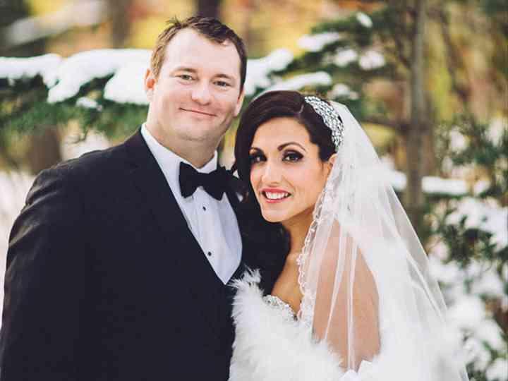 The wedding of Mark and Christina