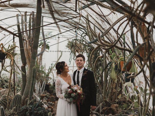 Keith and Caroline's Wedding in Palm Springs, California 1