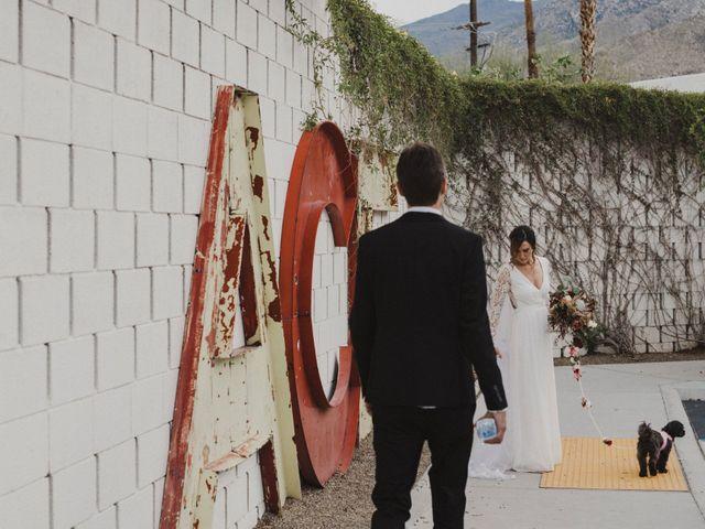 Keith and Caroline's Wedding in Palm Springs, California 9
