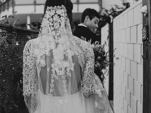 Keith and Caroline's Wedding in Palm Springs, California 10