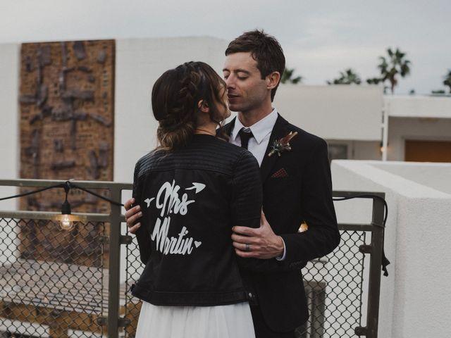 Keith and Caroline's Wedding in Palm Springs, California 13