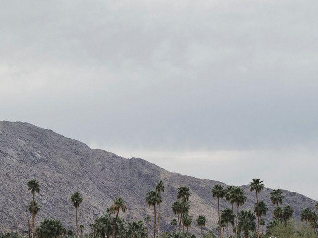 Keith and Caroline's Wedding in Palm Springs, California 17