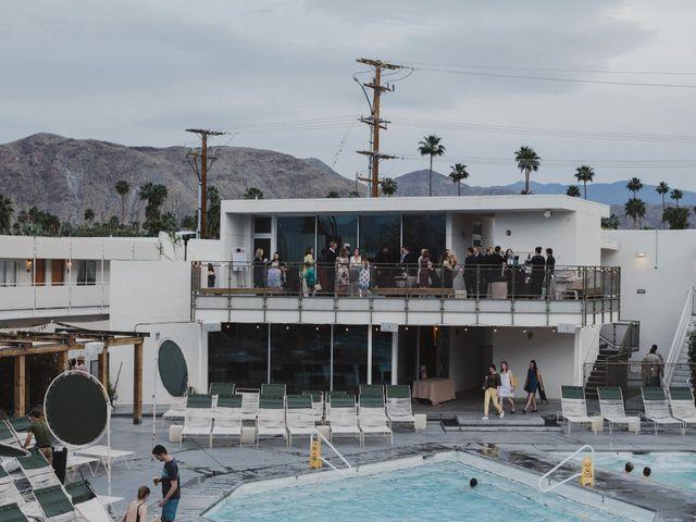 Keith and Caroline's Wedding in Palm Springs, California 18