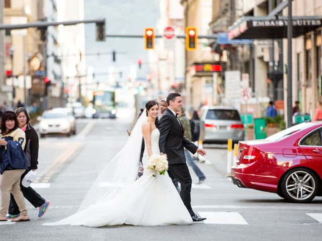 Josh and Janelle's Wedding in Pittsburgh, Pennsylvania 20