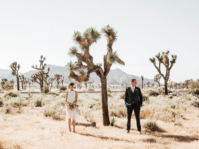 Kevry and Jessica's Wedding in Joshua Tree, California 1