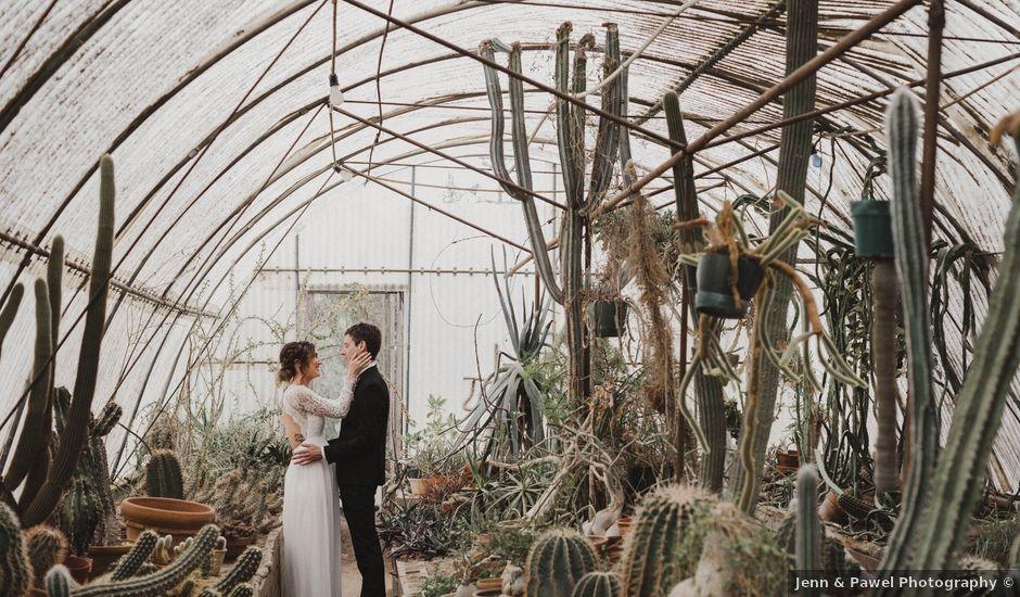 Keith and Caroline's Wedding in Palm Springs, California