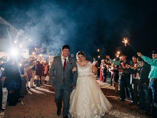 The wedding of Meagan Coberley and Caleb Raine 1